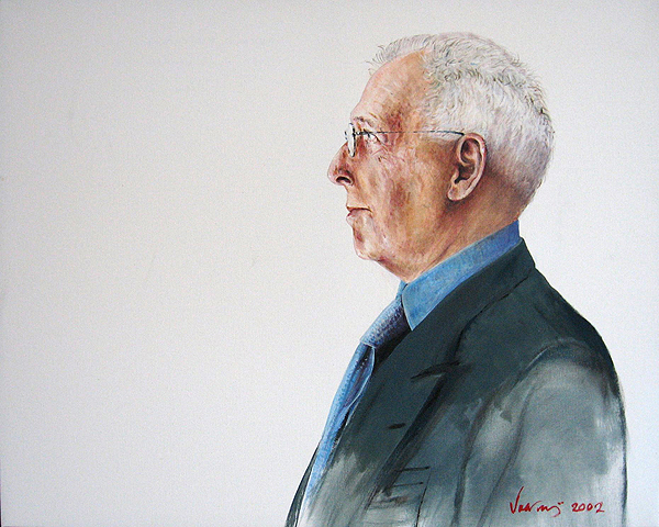 Arthur Erickson (Acquired by the National Portrait Gallery)